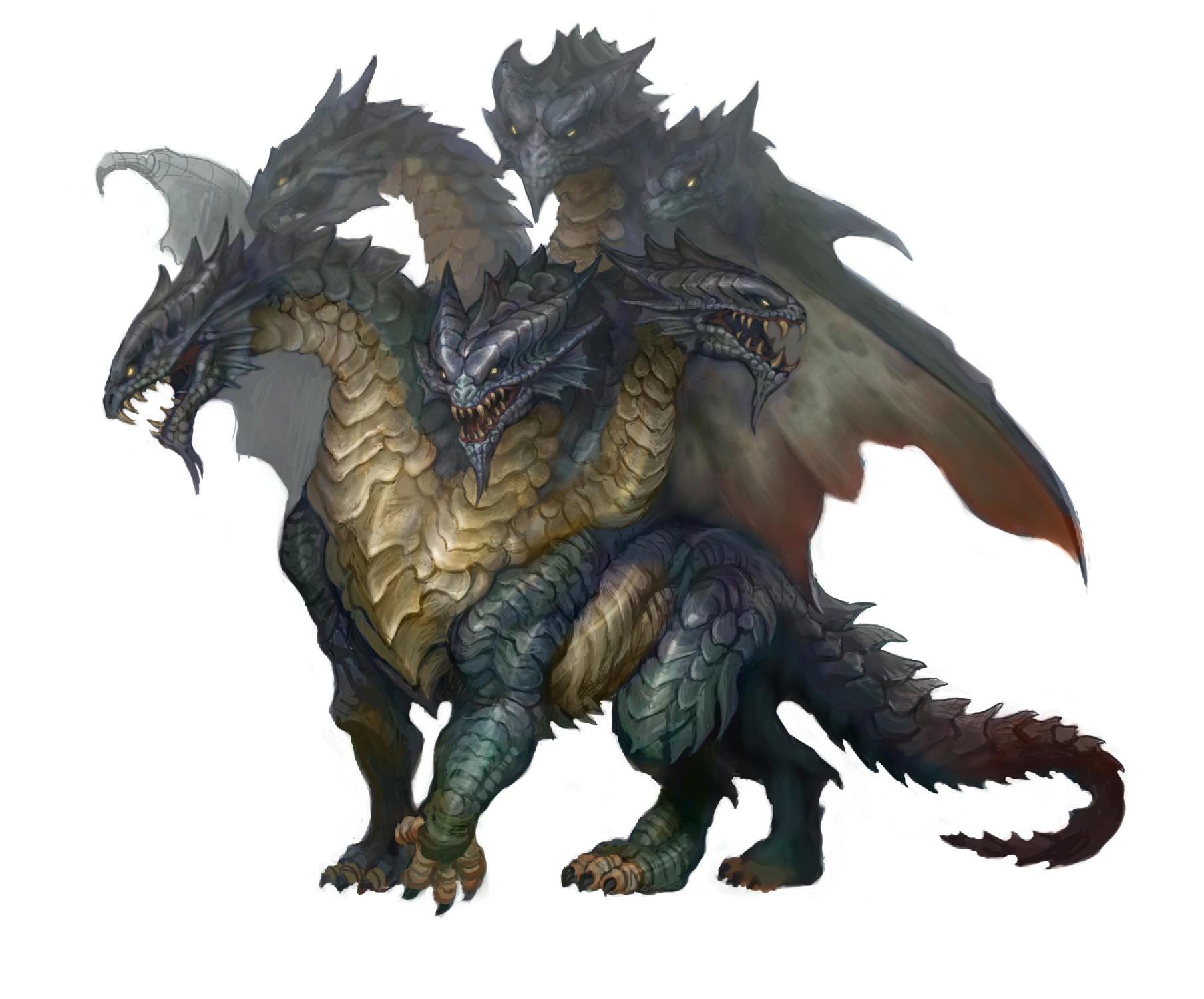 Hydra Dragon Pokemon At