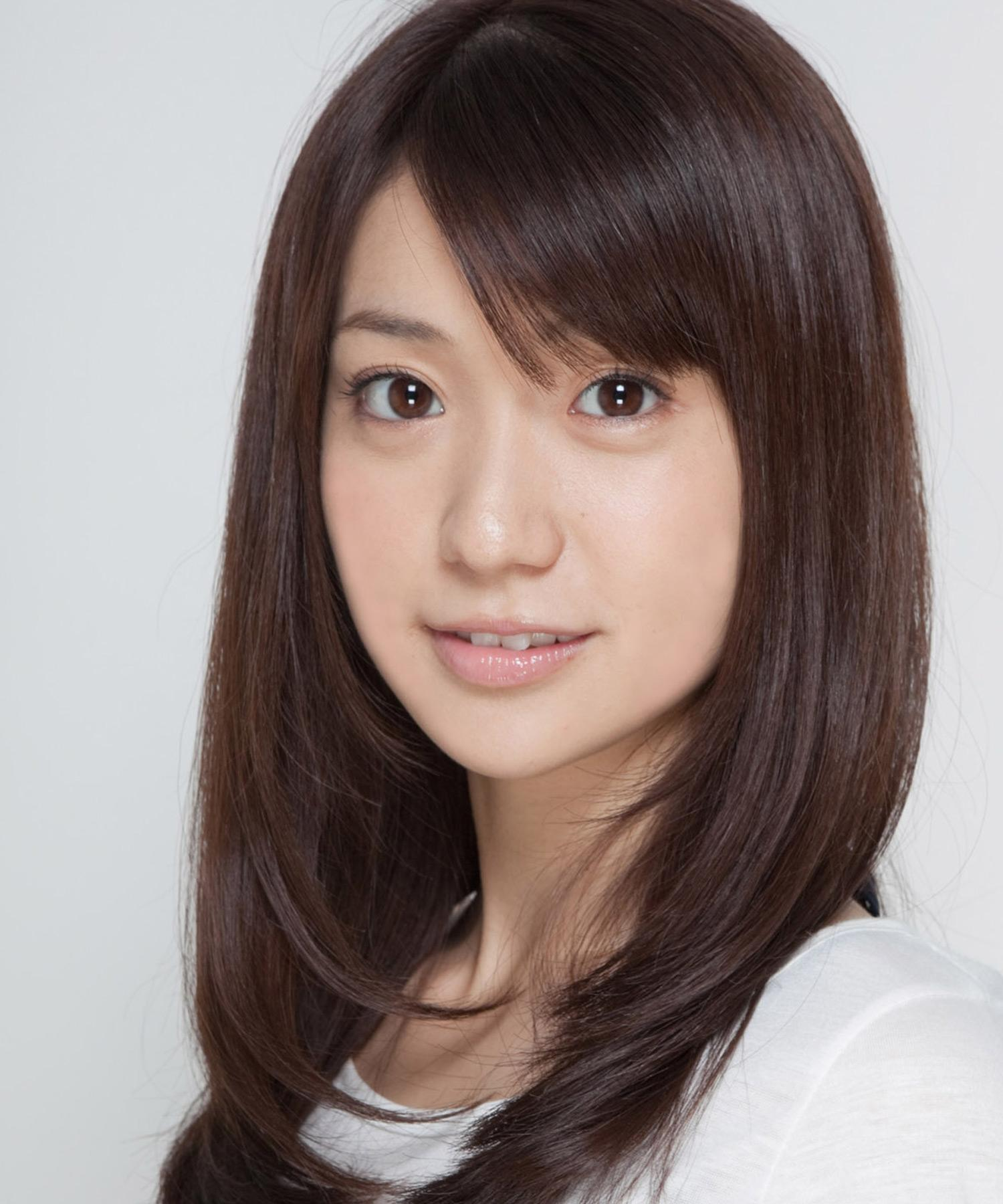 Yuko Oshima : エラ 髪型 ロング : 髪型 ロング